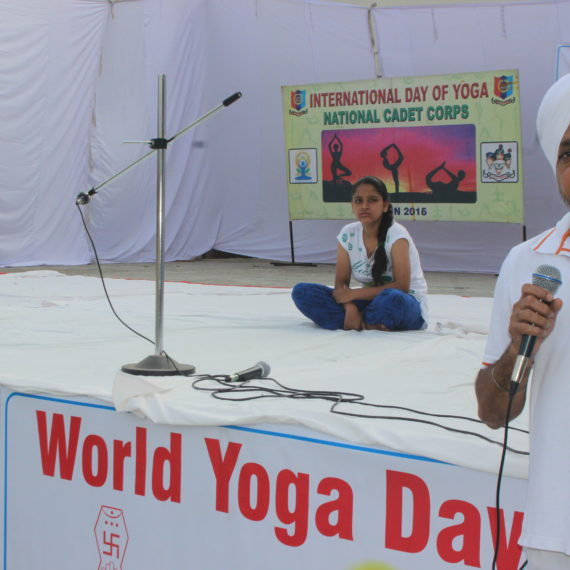 KNCW celebrates 'International Yoga day'