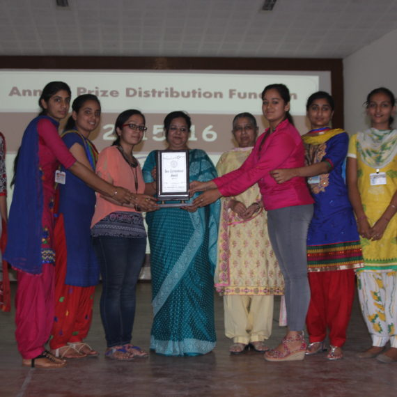 Annual Prize Distribution held at KNCW