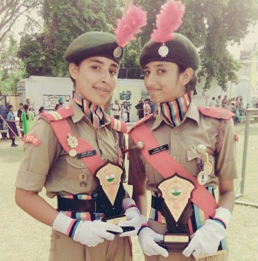 NCC cadets awarded during Independence Day function