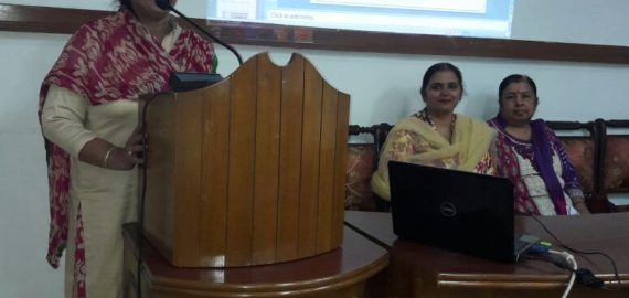 Presentation on Demonetization held at KNCW