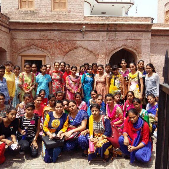 Students of KNCW visit Khatkar Kalan