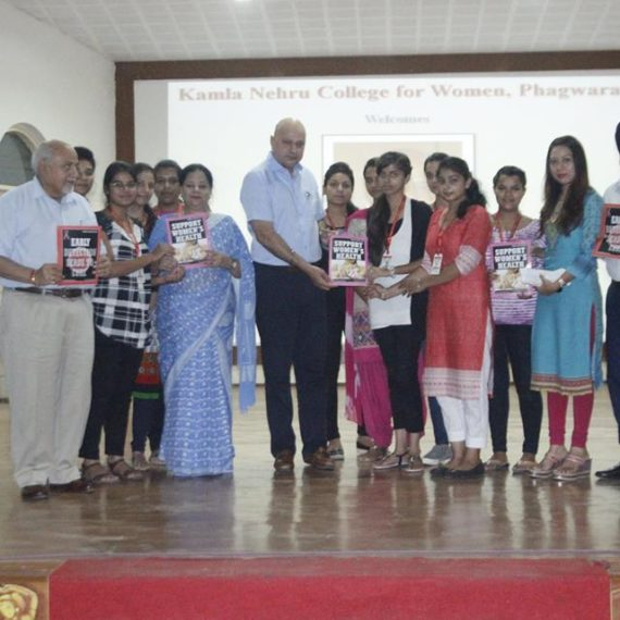 Talk on Cancer Care held at KNCW