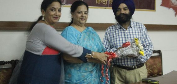 Lecture on contribution of Hindi language held