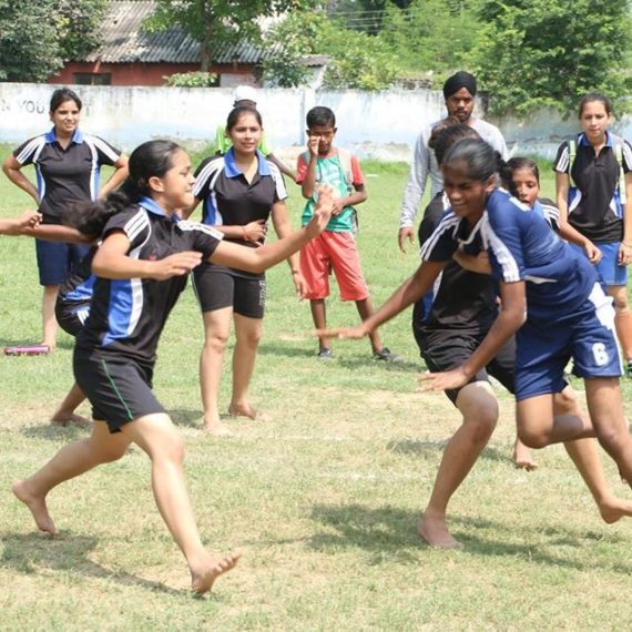 KNCW girls' champions in Kabaddi