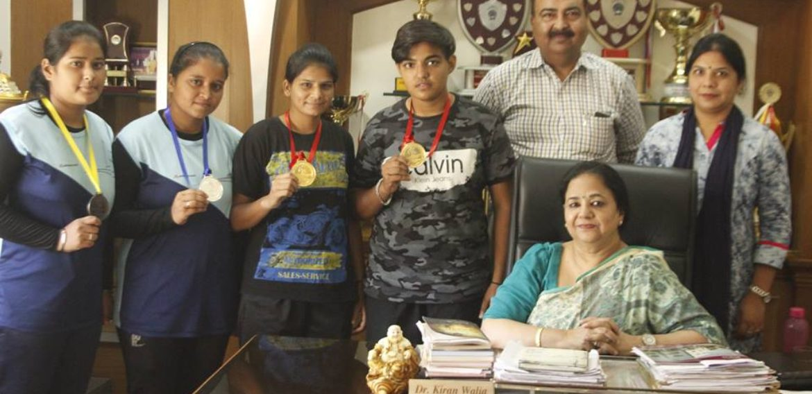 KNCW students bag medals in Senior Punjab State Wushu Championship