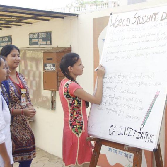 World Student's Day celebrated at KNCW