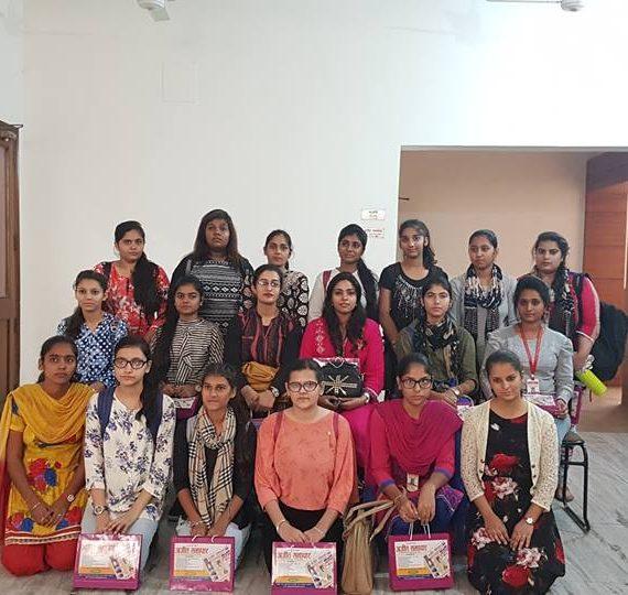 KNCW students visit Ajit and BIG FM