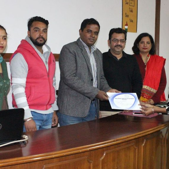 KNCW organizes Speech Competition under Sweep Programme