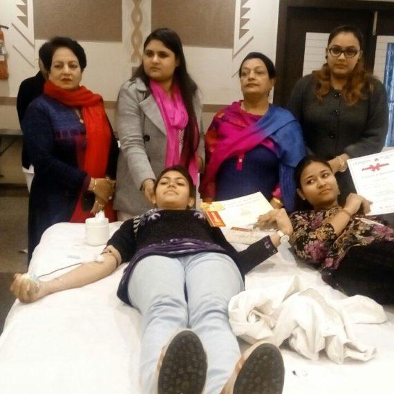 Women Empowerment through Blood Donation