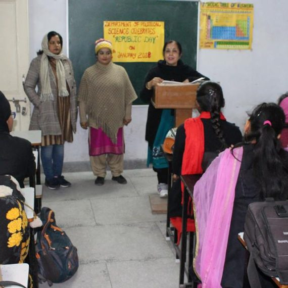 Republic Day celebrated at KNCW