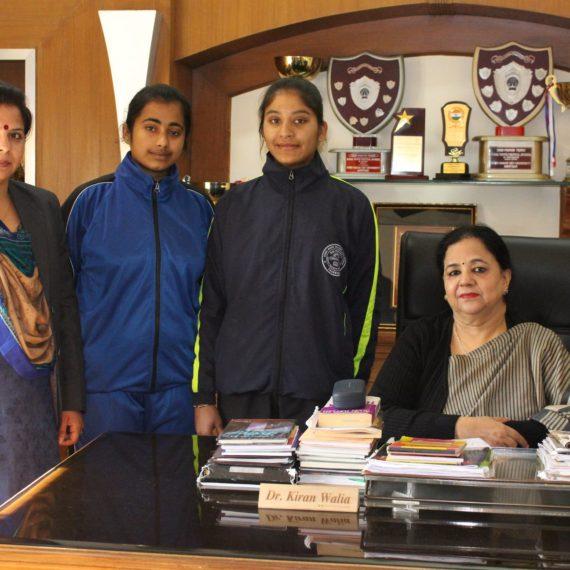 KNCW students bag medals in Taekwondo