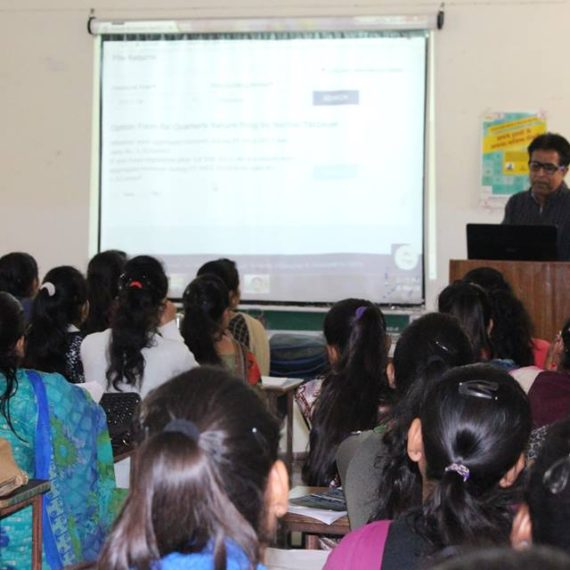 Training session on GST held at KNCW