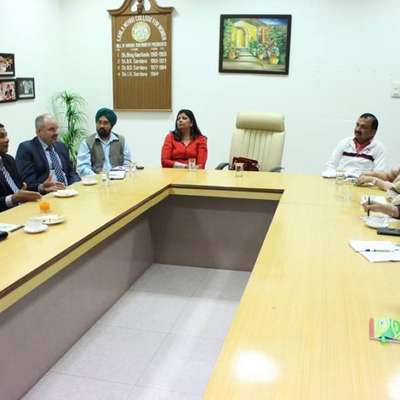 Team from National University USA visited KNCW