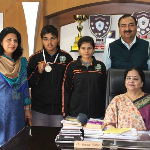 KNCW students bag medals in Inter university wushu