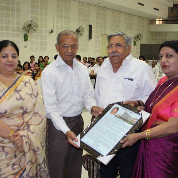 Superannuation celebrations of Ms. Gurjit Kaur held at KNCW