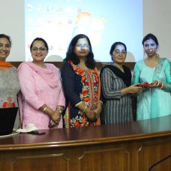 "KNCW organizes extension lecture on ""Research Methodology and Statistics"""